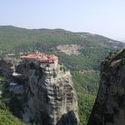 Picture - Cliff top monastery in Meteora.