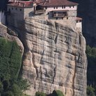 Picture - Roussanou Monastery at Meteora.