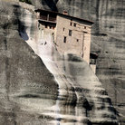 Picture - Cliffside monastery at Meteora.