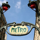 Picture - A metro sign in Paris.