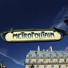 Picture - Art Nouveau metro entrance in Paris.
