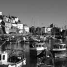 Picture - Boats at the fishing village of Mevagissey.