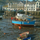 Picture - Fishing port of Mevagissey.