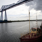 Picture - The Middlesbrough Transporter Bridge linking Middlesbrough to Port Clarence.