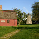 Picture - General Prescott's cabin and windmill, Middletown.