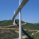 Picture - The The Millau Viaduct near Millau.