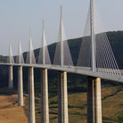 Picture - The Millau Bridge in Southern France.