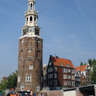 Picture - The Mint or Montelbaan Tower in Amsterdam.