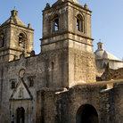 Picture - Mission Concepcion in San Antonio Missions National Historic Park, Texas.