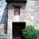 Picture - Doorway to the Carmel Mission.