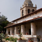 Picture - Carmel Mission.