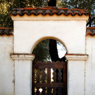 Picture - Entrance gate of San Juan Bautista Mission.