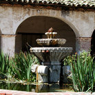 Picture - Fountain at Mission San Miguel.