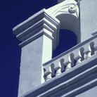 Picture - Details of Mission San Xavier del Bac, Tucson.