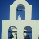 Picture - Bells of Mission San Xavier del Bac, Tucson.