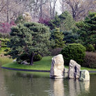 Picture - Pond in the Missouri Botanical Garden in St Louis.