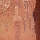 Picture - Pictographs near Moab.