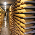 Picture - Cheese storehouse in the Gruyere region.