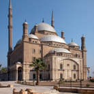 Picture - The Alabaster mosque in Cairo, one of the city's great landmarks.