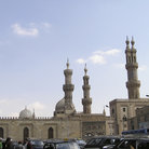 Picture - Minarets of the Muhammed Ali Mosque in Cairo.