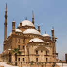 Picture - Exterior of Mohammed Ali Mosque in Cairo.