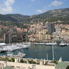 Picture - Buildings around port of Monaco.
