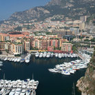 Picture - Monte Carlo and the Monaco harbor.