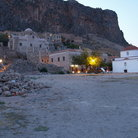 Picture - Village of Monemvasia.
