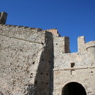 Picture - Old fortifications at Monemvassia.