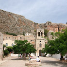 Picture - Scene from the castle town of Monemvasia.