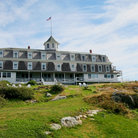 Picture - A summer day at the Island Inn on Monhegan Island.