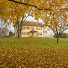 Picture - Historic building in Monmouth Battlefield State Park, New Jersey.