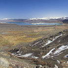 Picture - Panorama view of Lake Mono, Lee Vining.