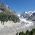 Picture - Mer de Glacier on Mont Blanc.