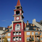 Picture - Colorful archicture at Mount Tremblant.