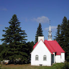 Picture - A church at Mount Tremblant.