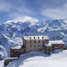Picture - Snow covered Monte Rosa.