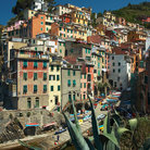 Picture - Hillside homes in Monterosso.