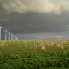 Picture - Wind Farm near Montezuma, Kansas.