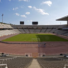 Picture - Olympic Stadium in Barcelona.