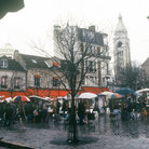 Picture - A rainy day in Montmartre, Paris.