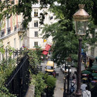 Picture - Staircase in Montmartre.