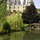 Picture - Water in front of Chateau Montrésor.