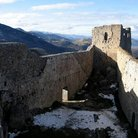 Picture - Old castle ruins at Montsegur.