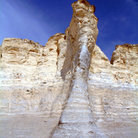Picture - Limestone formations at Monument rocks.
