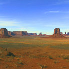 Picture - Field of buttes at Monument Valley.