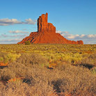 Picture - Big Indian Butte near Monument Valley.