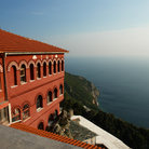 Picture - Monastery at Mount Athos.