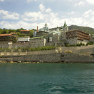 Picture - The Monastery Panteleimonos, Mount Athos.