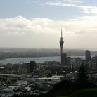 Picture - View of Auckland from Mt Eden.